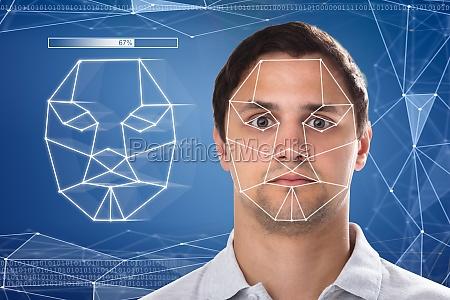 medicinal cara laser mantener iconos reconocimiento