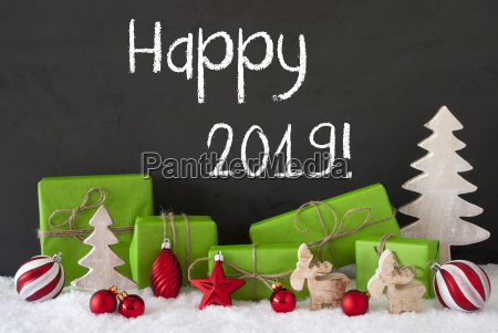 christmas decoration gifts cement snow text