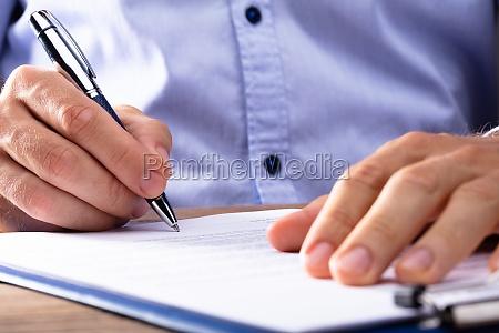 contrato de firma de empresario