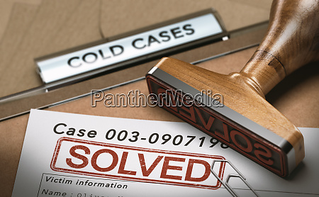 cold case solved file closed