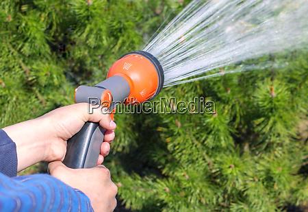 manguera spray jardineria equipo la comunidad