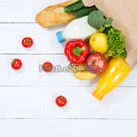 comprar alimentos compra frutas y verduras