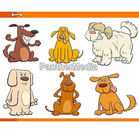 perros y cachorros personajes de dibujos