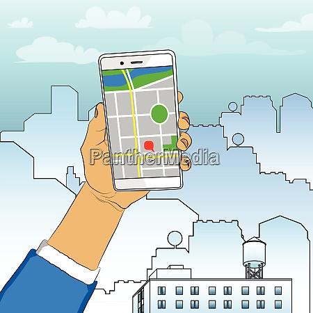 mano sosteniendo el telefono celular blanco