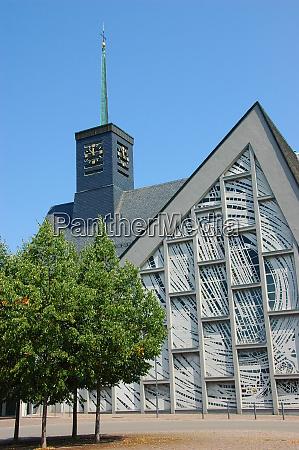 iglesia moderna leimersheim