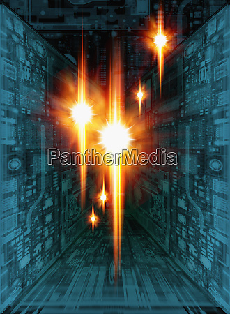 disenyo de tecnologia abstracta
