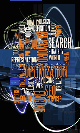 montage of business buzzwords