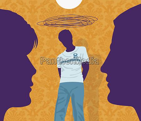 padres preocupados por el hijo adolescente