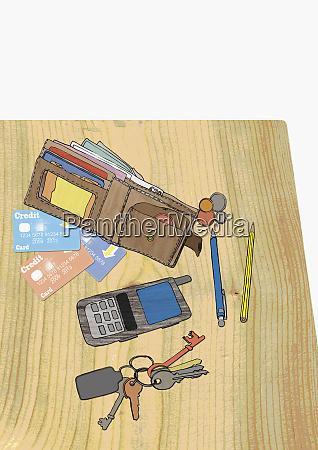 monedero tarjetas de credito monedas telefono