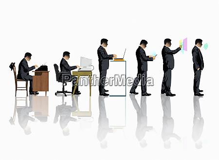 evolution of business communication technology