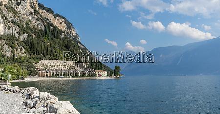 landscape with lemon house of tignale