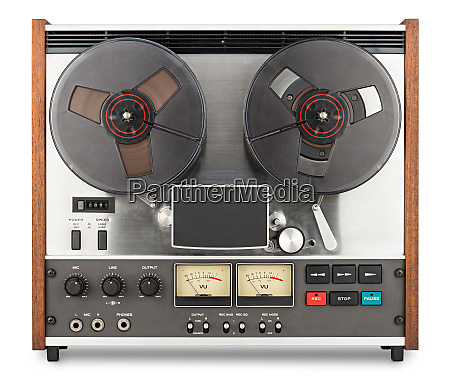 vieja grabadora de cinta