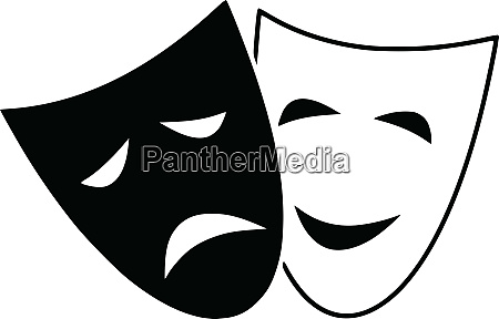 tragedia drama teatro comedia mascara mascara