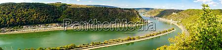 paisaje panorama lorelei