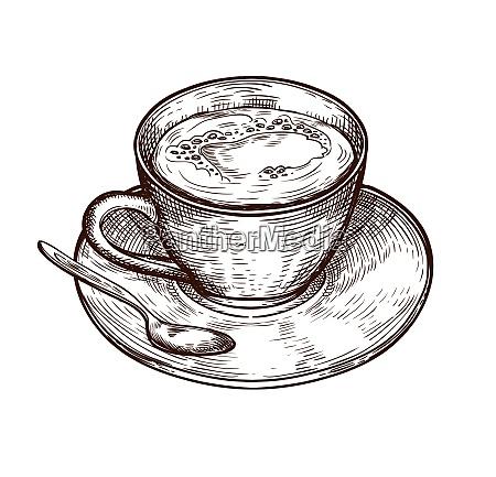 copa aislada sobre fondo blanco taza