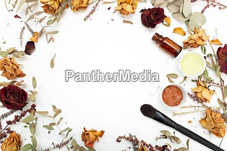 cosmeticos botanicos aromaticos hierbas secas mezcla