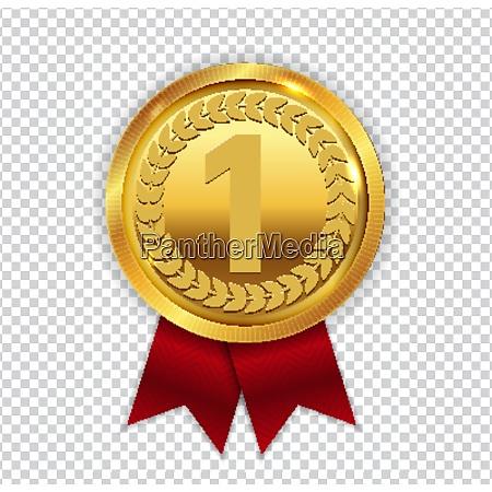 medalla de oro de arte campeon