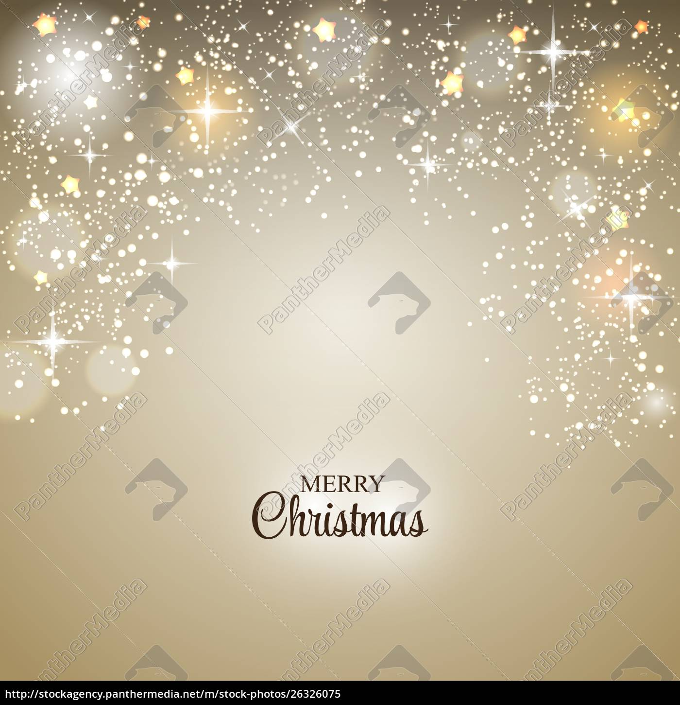 christmas, glossy, star, background, vector, illustration - 26326075