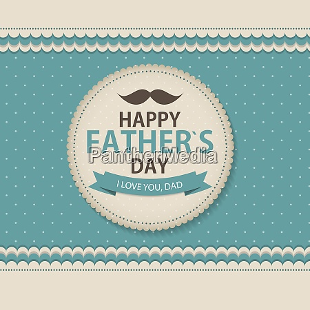 happy fathers day poster card background