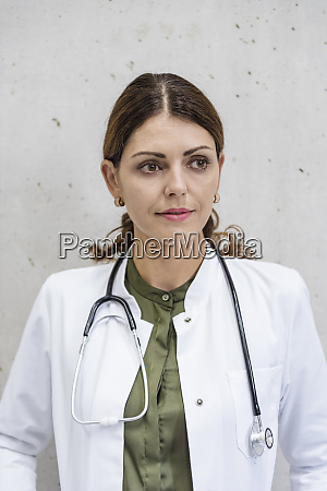portrait of a female doctor with