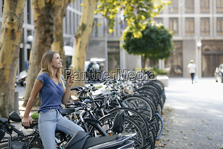 netherlands maastricht smiling blond young woman