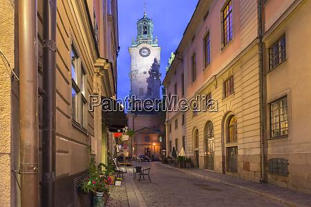 church storkyrkan in stockholm sweden