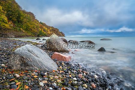 costa del mar baltico en la