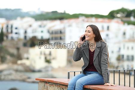 telefono hablar hablar mujer llamar llamar