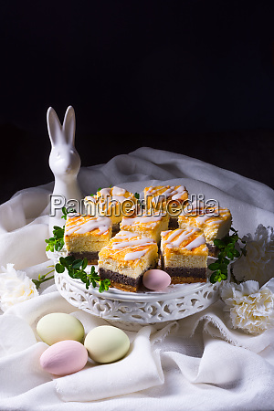 delicious easter poppy seed cake with