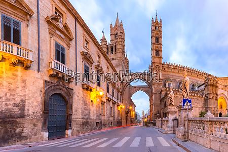 catedral de palermo sicilia italia