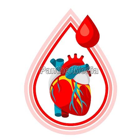 donate blood medical and healthcare iillustration