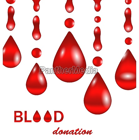 creative background for blood donation poster