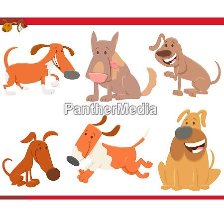perros o cachorros animales de dibujos