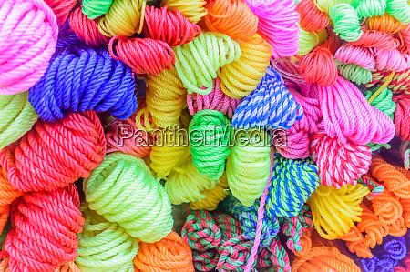 bunch or bundle of circular nylon