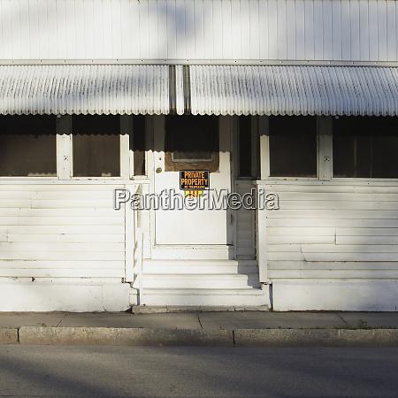 signo de propiedad privada