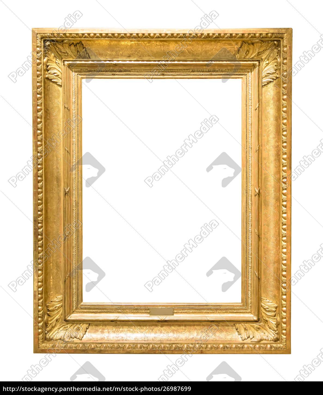 marco, de, imagen, decorativa, de, oro - 26987699