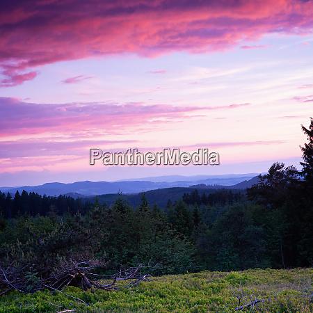 a german beauty rothaar mountains