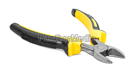 side cutters isolated on white background