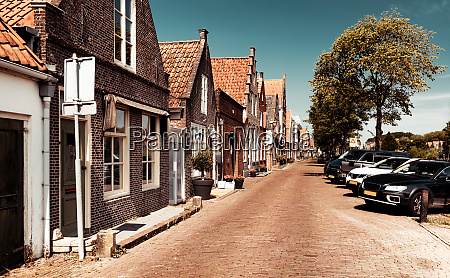 beautiful cozy street of edam