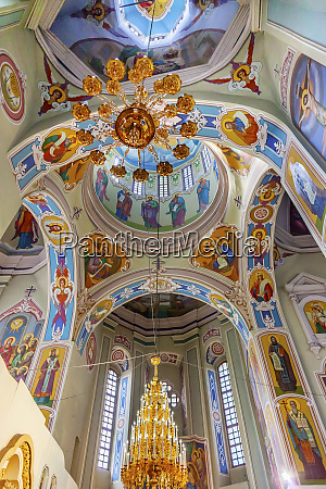 saint george cathedral vydubytsky monastery kiev