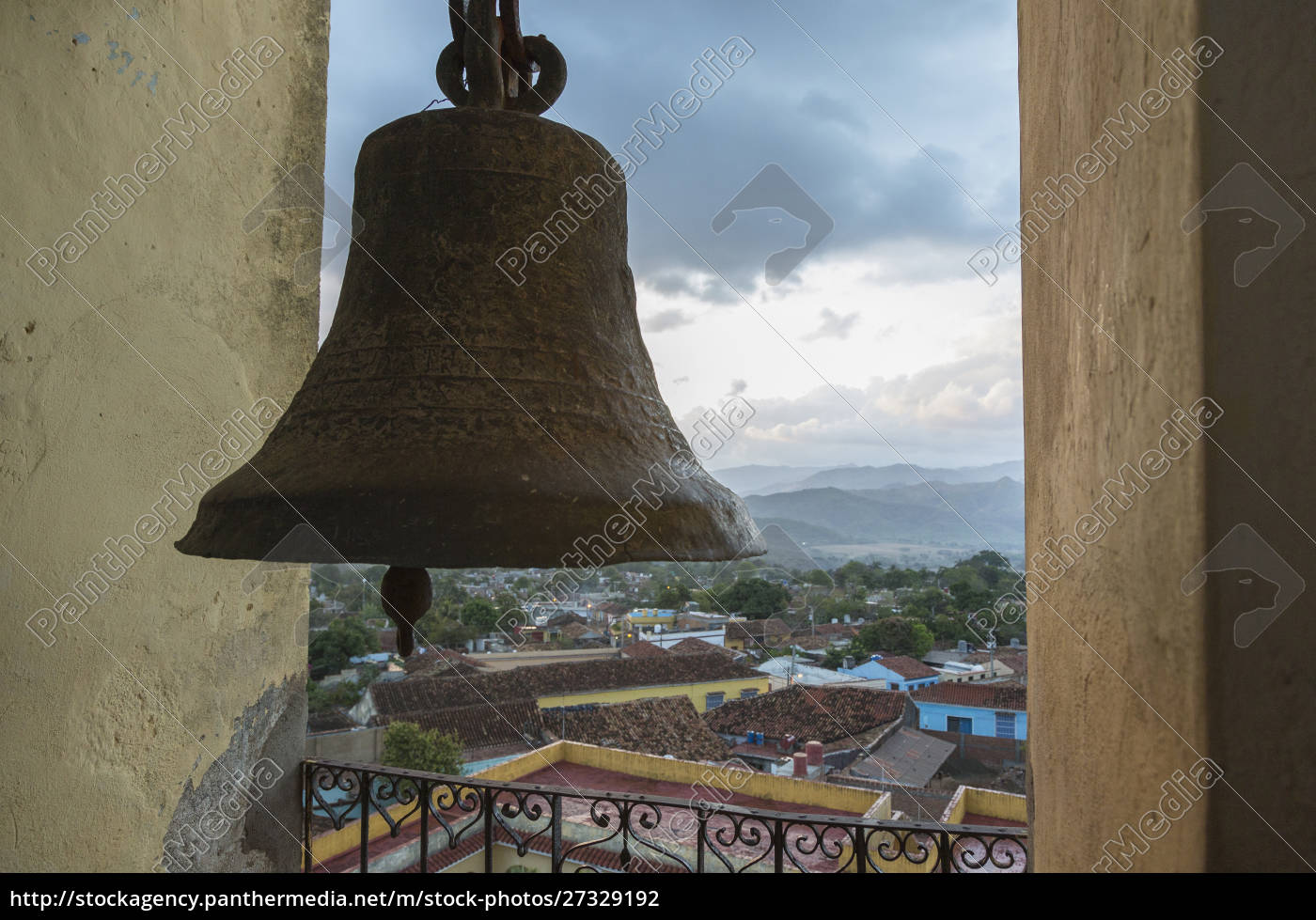 cuba, trinidad., vista, de, la, ciudad, desde - 27329192