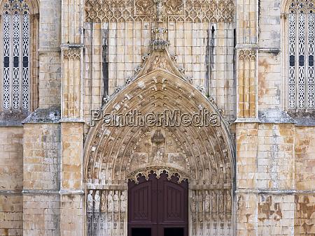 the main portal the monastery of
