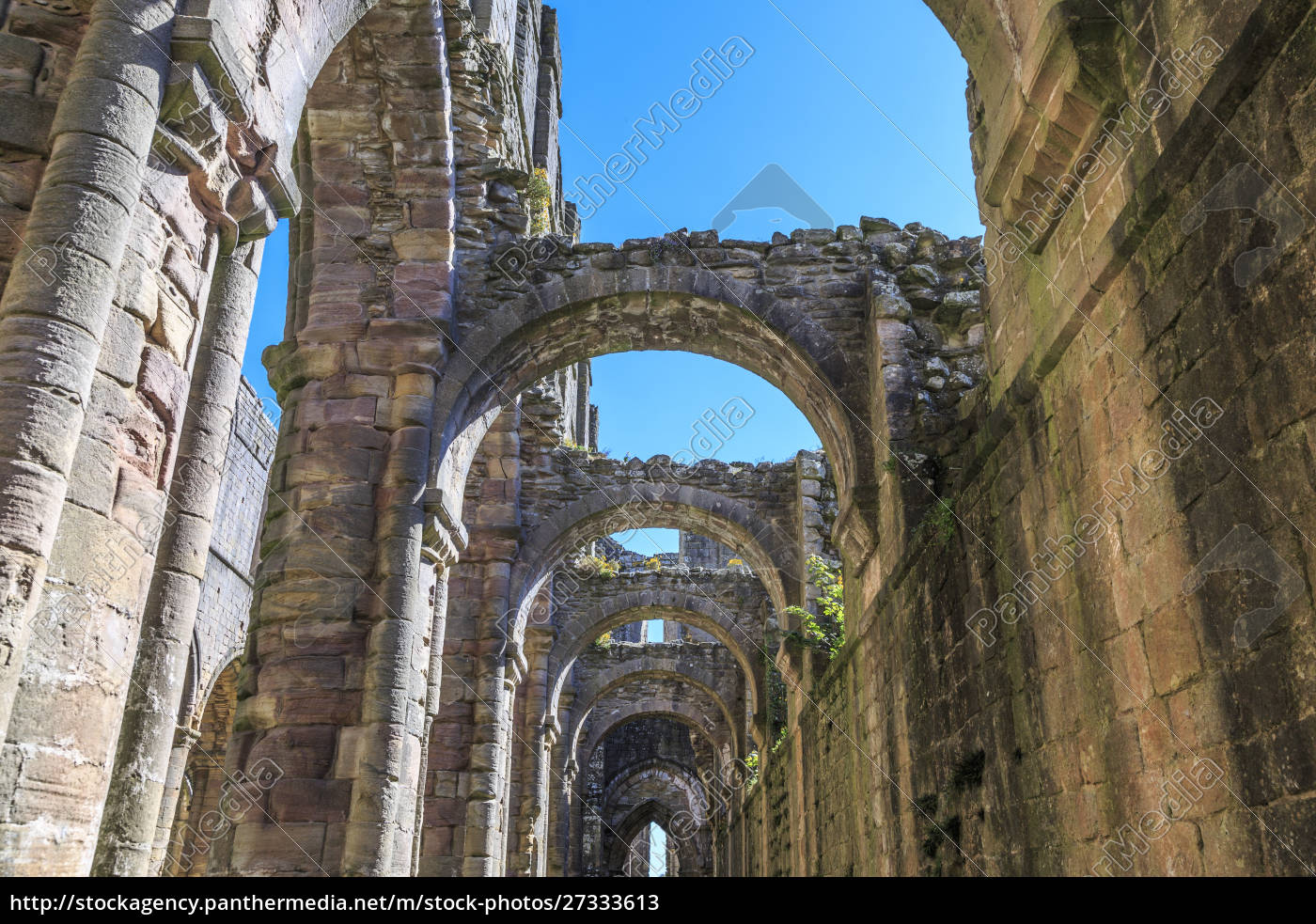 england, , north, yorkshire, , ripon., fountains, abbey, - 27333613