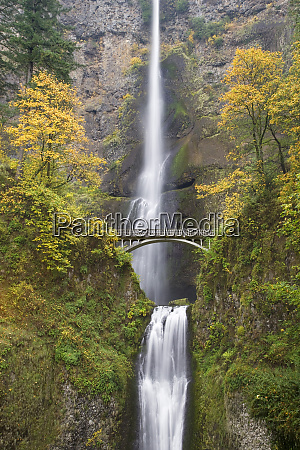usa oregon columbia river gorge view