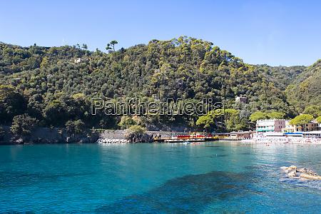 beach known as paraggi near portofino