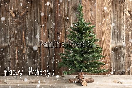 one christmas tree calligraphy happy holidays
