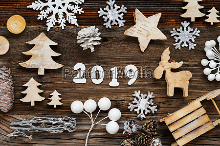 rustic wooden christmas decoration 2019 tree