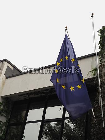 bandera de la union europea ue