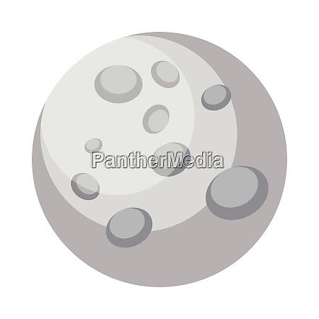 ilustracion vectorial de disenyo mercury simple