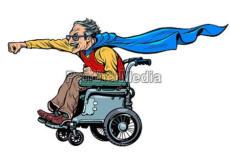 hombre discapacitado usuario activo de silla